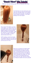 Wig tutorial - 'Beach Waves' by tenleid