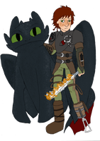Hiccup by CoffeeOtter