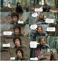 Boromir's Death Part 1 by ashantiwolfrider