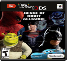 Sense of Right Alliance New N3DS Box Art by Faxerton30