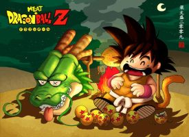 Dragon Meat Ball by Wenart