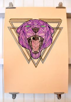 Panther head by albertoo