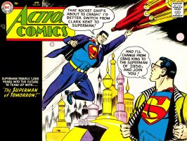Action Comics 215 by Superman8193