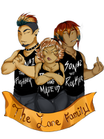 Lane family by GingerQuin