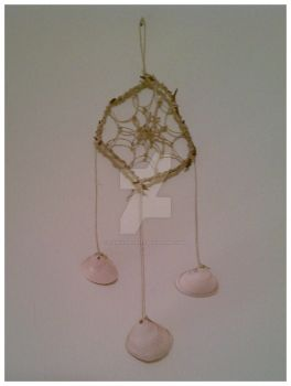 Sea Shell Dream Catcher by candyapplesex