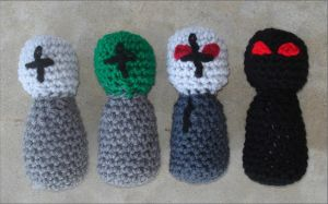 Madness Combat Amigurumis by RebelATS