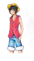 Luffy by stargirl5286