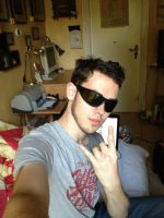 me with sunglasses :D by Ractos