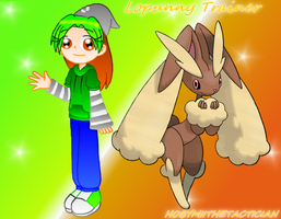 COMMISH : LOPUNNY TRAINER by HOBYMIITHETACTICIAN
