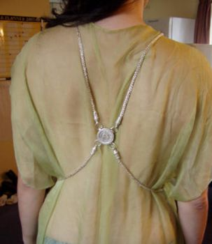 Hoxne Inspired Torso chain - back view by AudreyLucero