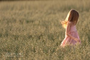 Through the Oat Field by Aixchel