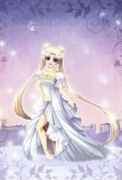 White Moon Princess by ToxicStarStudio