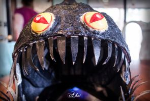 Angler Fish Mask Build by ahniton