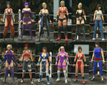 WWE 2K DEAD OR ALIVE 5 CHRARACTER PACK 1 by faytrobertson