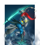 Undyne Redesign by kpeppers
