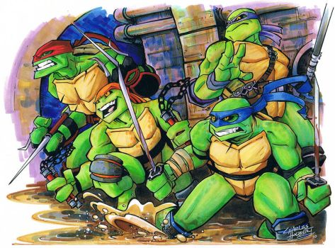 marker: Way of the Turtle by KidNotorious