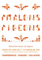 Pigeon poster 2 by Exhibit-E