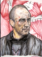 Roose Bolton by monkeyswithbrushes