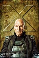 X-Men Days of Future Past: Prof X: BuzSim Edit by nerdboy69
