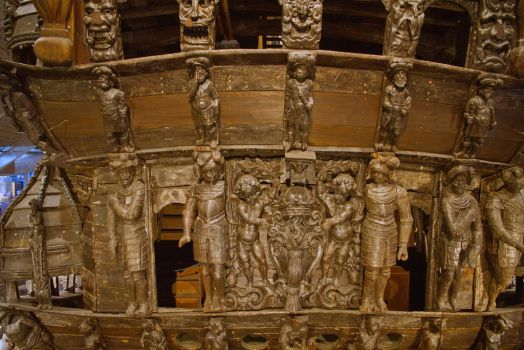 Detailed Carving on the Vasa by parallel-pam