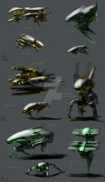 The alien Forces by AlphaAnime