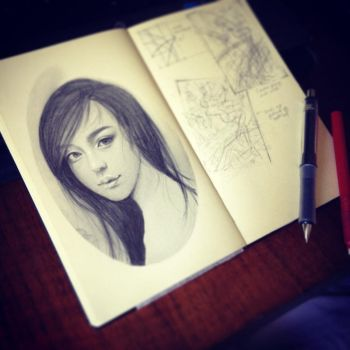 Sketch by Huyen-n00b