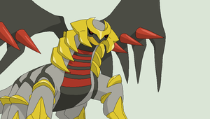 Pokemon Base 107~Giratina 1~ by Xbox-DS-Gameboy