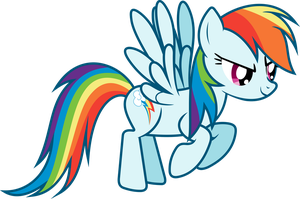 Rainbow Dash (color mod) by uxyd