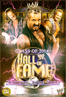 WWE DDP for HALL OF FAME poster by TheIronSkull