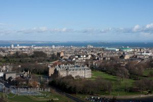 Edinburgh: View from the Top by Avalarion