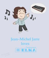 Jarre's Elka Synthex by ReallyGouda