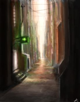 Alleyway by DookieAdz