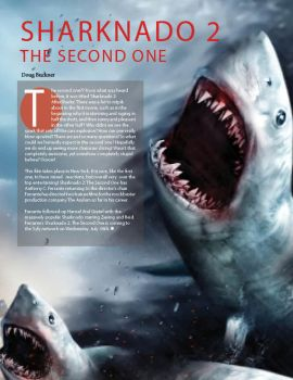 01 InDesign - Sharknado 2, The Second One by Konack1
