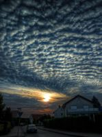 Clouds No9 HDR by Risen-From-The-Ruins