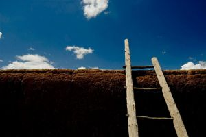 Ladder at Taos by nathanieljc
