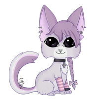 Kitty Chibi Example~ by Stealthy-Kitty