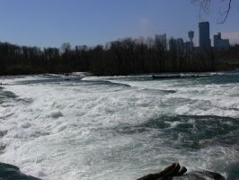 Niagra Falls (View of Canada) by Xanamiar