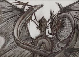 3 dragones by Mariantonieta