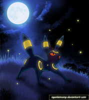 197 - Umbreon by nganlamsong