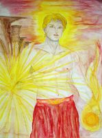 Sungod Helios by Tricia-Danby