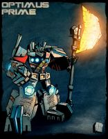 KOR Optimus Prime COLORS by dcjosh
