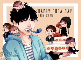 Happy Suga Day 2017 by Novasweet000