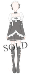 [SOLD] Halloween Outfit Adoptable by Aloise-chan