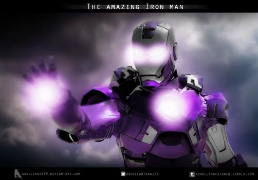 The amazing Iron man by ABDULLAH1995