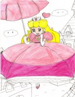 Super Mario RPG - Peach by Aquateen510
