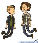 Supernatural doodle by Mariana-S