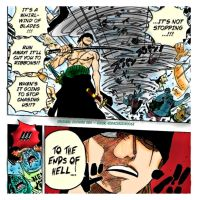 Roronoa Zoro - One Piece 635 by godassassin0068