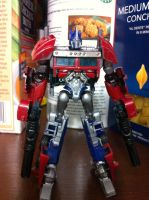 TF: Prime Cyberverse Optimus Prime - painted 2 by wulongti