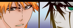 Ichigo and Ulquiorra by FoxedPeople