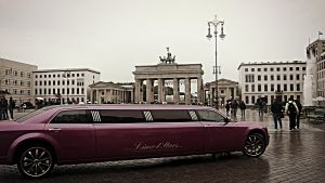 Chrysler Pink in Berlin by VeronicaPsycho